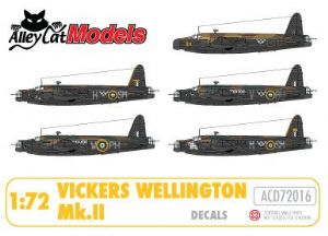 Vickers Wellington MkII (Merlin powered) Decals